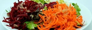 Healthy Salad Recipe: Jicama with Beets & Carrots
