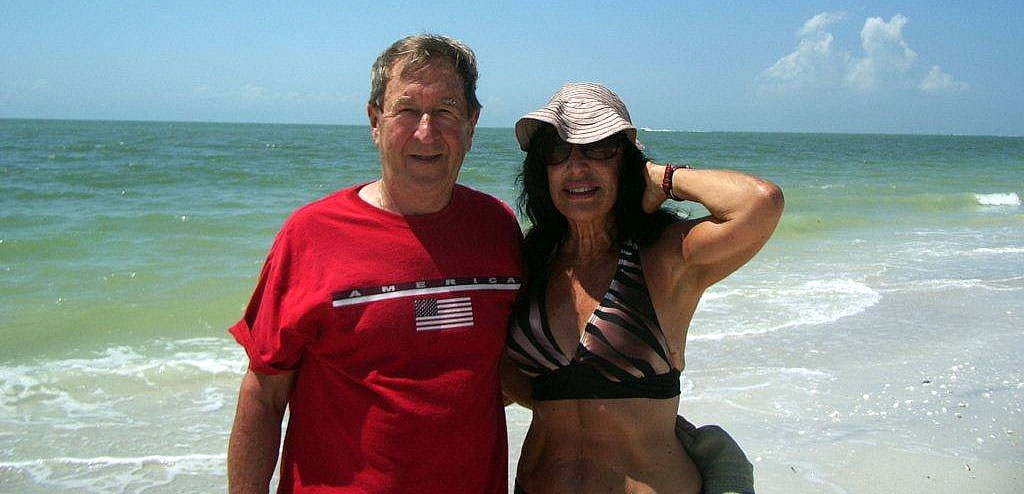 Dan Kanouse and his wife Fil