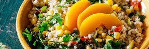 Eat more whole grains for a flatter belly.