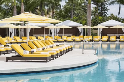 Pritikin Health Resort in Miami Florida pool.