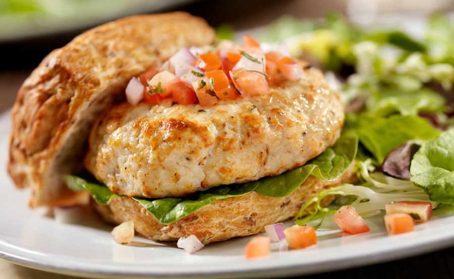 Ideas for Healthy, Simple Sandwiches Like Chicken Burgers
