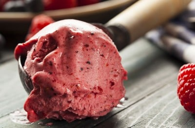 Healthy Recipe for Homemade Berry Ice Cream