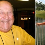 Mario Montalvo before and after his stay at the Pritikin health resort.
