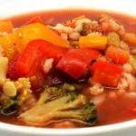Healthy Barley Vegetable Soup Recipe