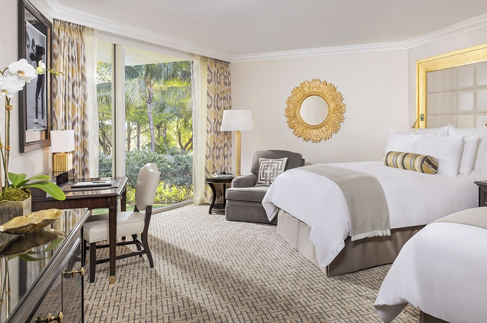 Deluxe Guestroom at the Pritikin Weight Loss Resort at Trump National Doral