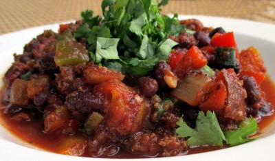 Healthy Comfort Food Recipe for Bison Chili