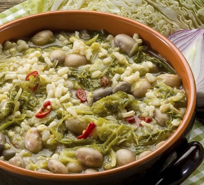 This Healthy Meal Plan for Weight Loss includes hearty soups.