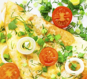 Lose weight and still enjoy healthy options like egg-white omelets.