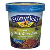 Stonyfield Ice Cream doesn't raise your cholesterol.