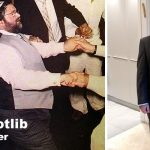 Marcel Gotlib, before and after attending the Pritikin Kosher Health & Weight Loss Program