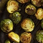 Garlic-Roasted Brussels Sprouts Recipe
