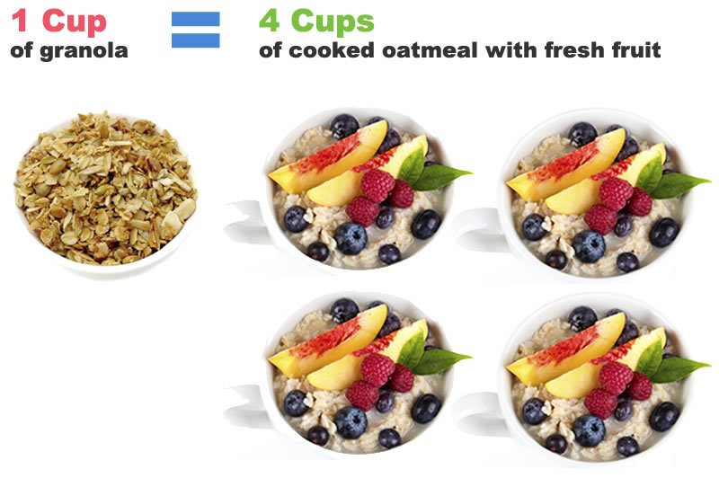 Calorie Counting: Granola vs Oatmeal