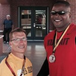 Coach Scott Danberg and Wounded Warrior athlete Robert Green