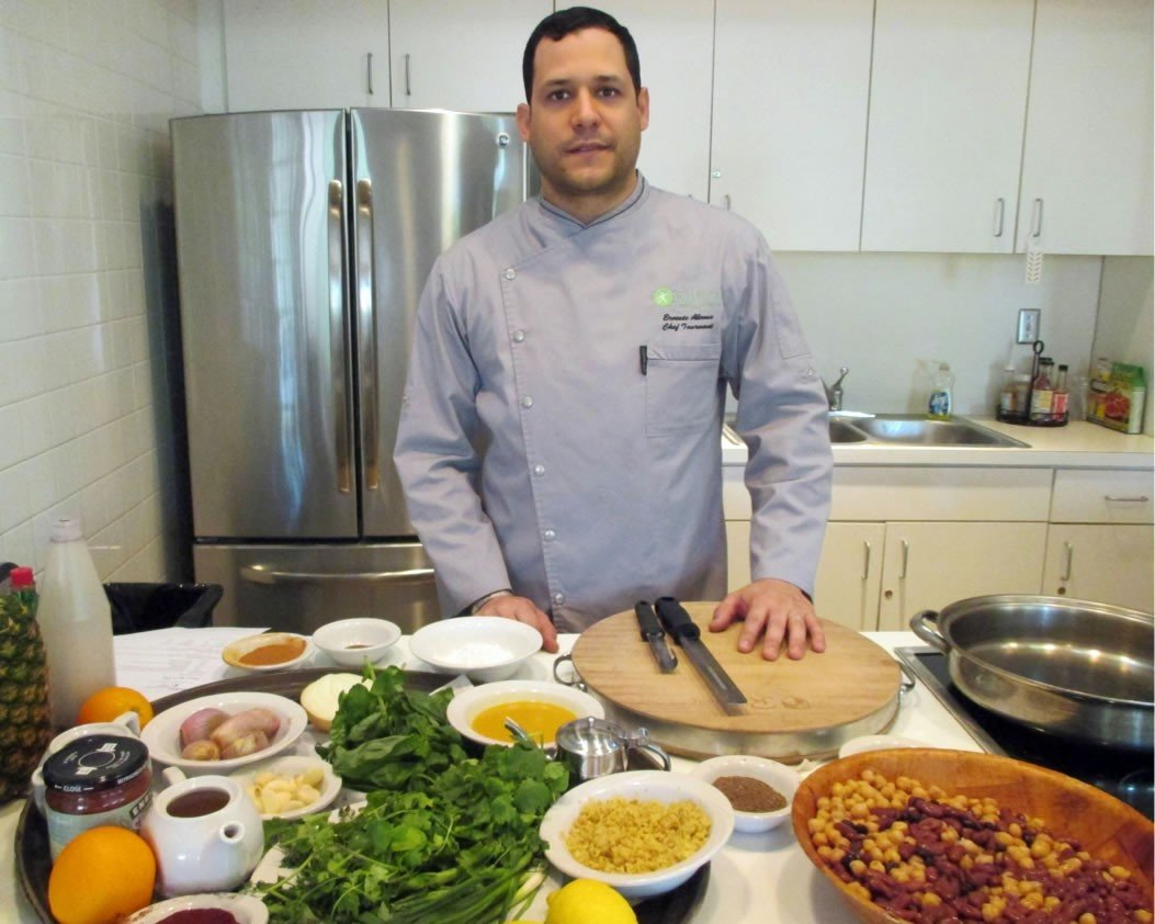 Healthy Cooking Classes in Miami with Chef Ernesto Alonso'