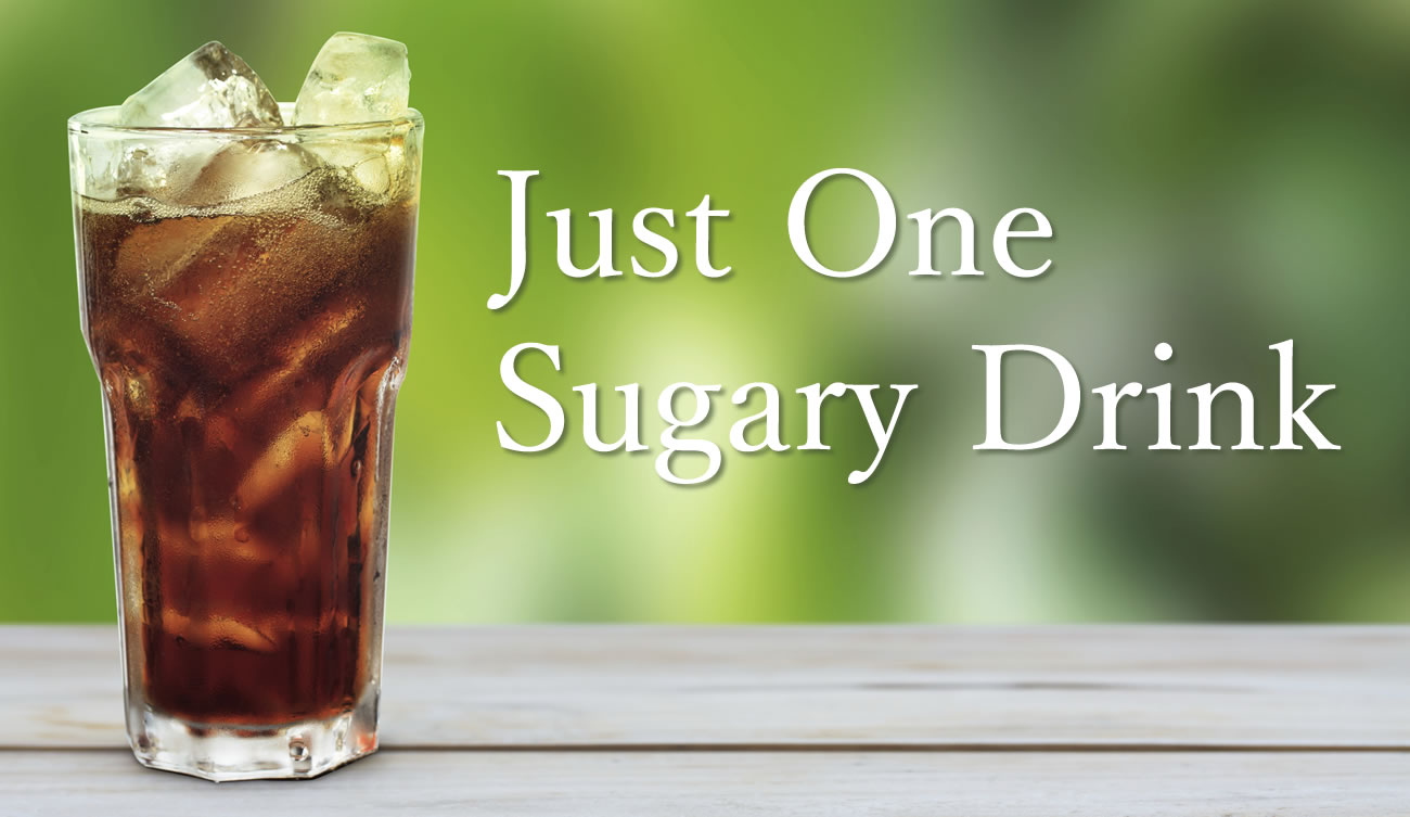 One Less Sugary Drink A Day Can Cut Your Risk of Type 2 Diabetes by 25%