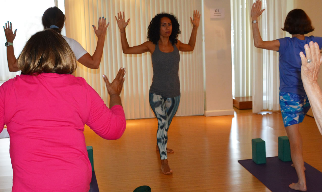 Small Group Yoga Class for Beginners