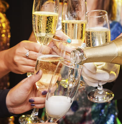 You can still enjoy the New Year's Eve festivities without overindulging.