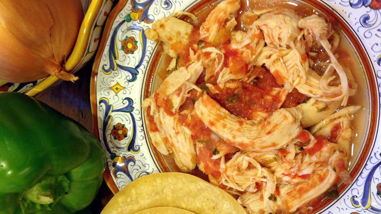 Salsa Chicken is a great dinner choice for weight loss