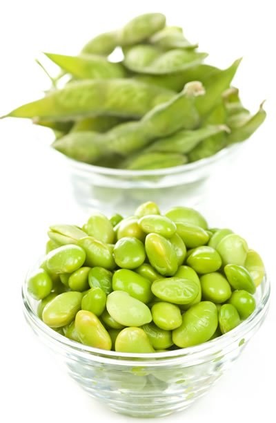 Snacks and Salads with Edamame Lower Cholesterol