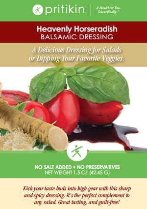 Healthy Horseradish Salad Dressing