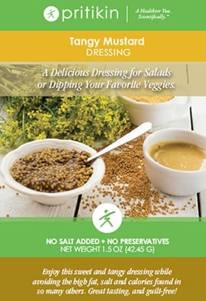 Healthy Mustard Salad Dressing