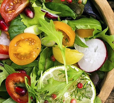 Dark Leafy Green Salads are Healthy