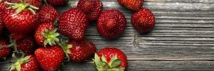 Strawberries Fruit of the Month
