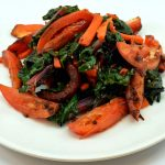 Roasted Tomatoes Chard