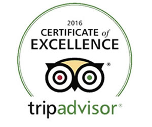 TripAdvisor Certificate of Excellence for Pritikin 2016