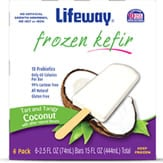 Lifeway Frozen Kefir is an excellent frozen treat if you have high cholesterol.