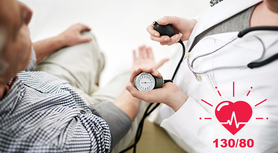 "130/80 Is the New ""High"" Blood Pressure Guidelines"
