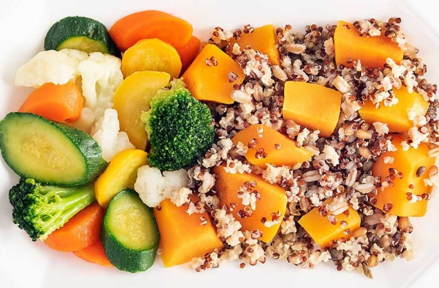 Ancient Grains & Squash with Mixed Vegetables – Click Here for More Details