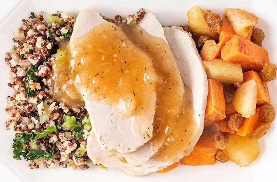 Roast Turkey with Ancient Grains Sweet Potato Medley – Click Here for More Details