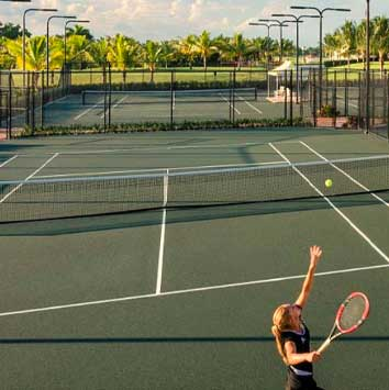 Pritikin Guests use the Trump Doral Tennis Courts