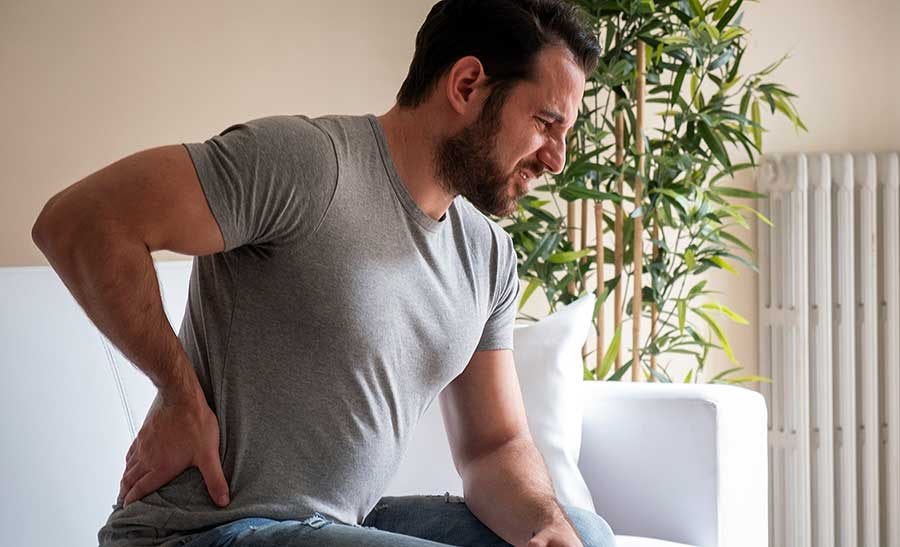 Exercise can help relieve back pain.